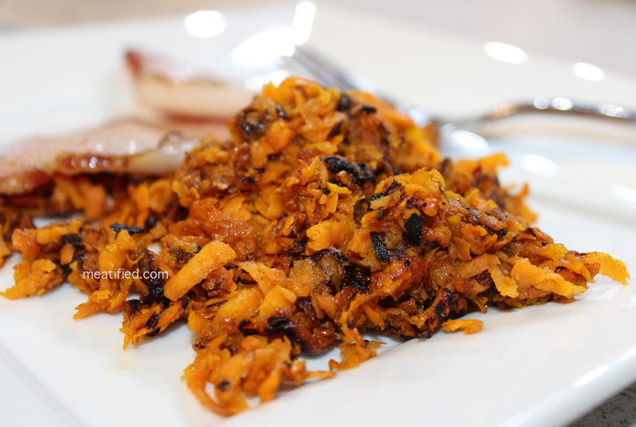 Sweet Potato Hash Browns - meatified