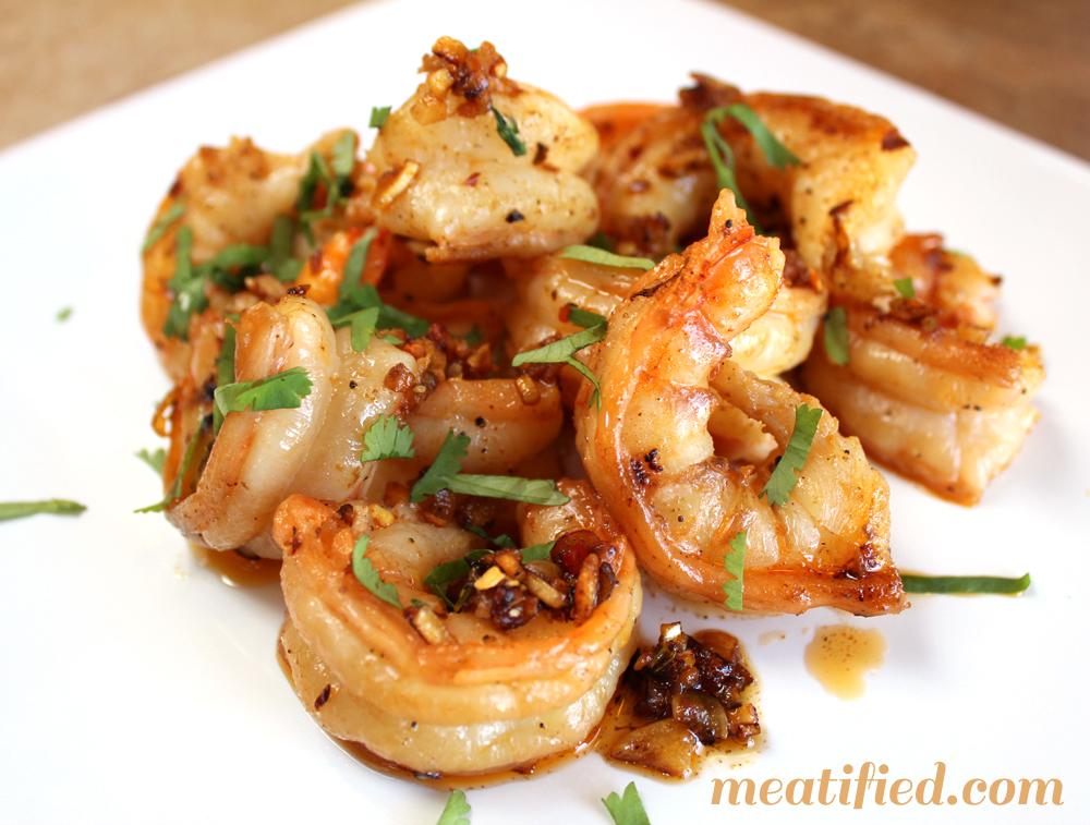 Garlic Shrimp {Gambas Al Ajillo}