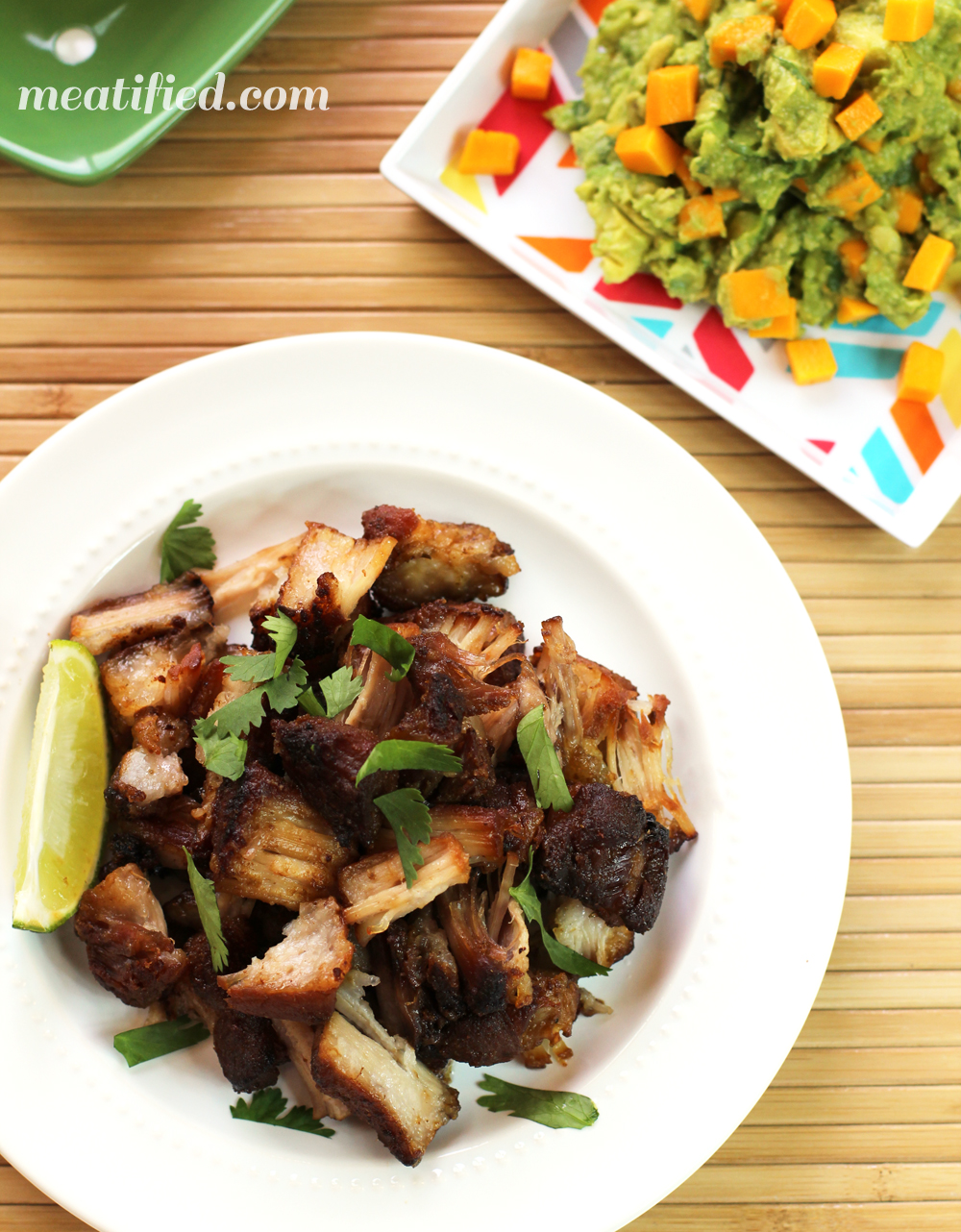 Smoked Pork Belly Carnitas Tacos Recipe — Dishmaps