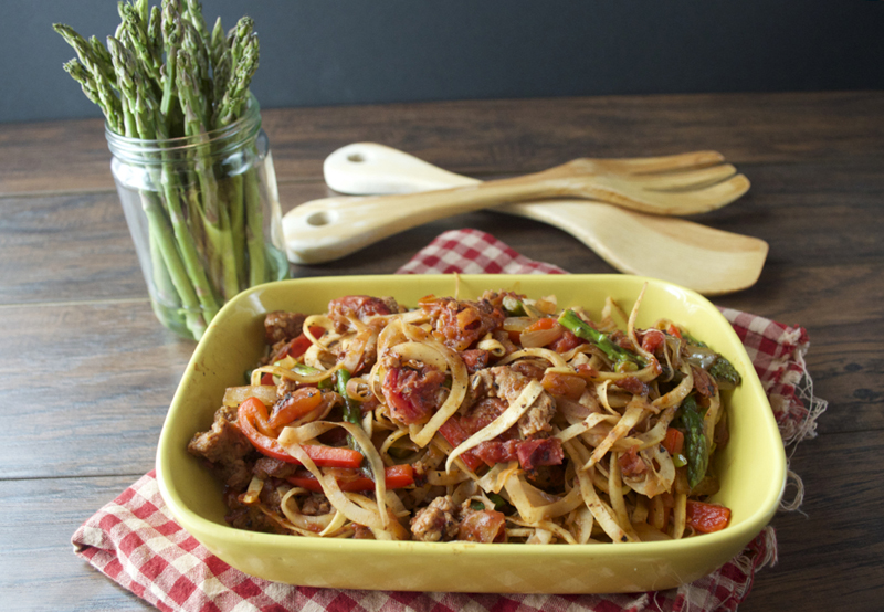 Spicy Italian Pasta | http://meatified.com #paleo #glutenfree