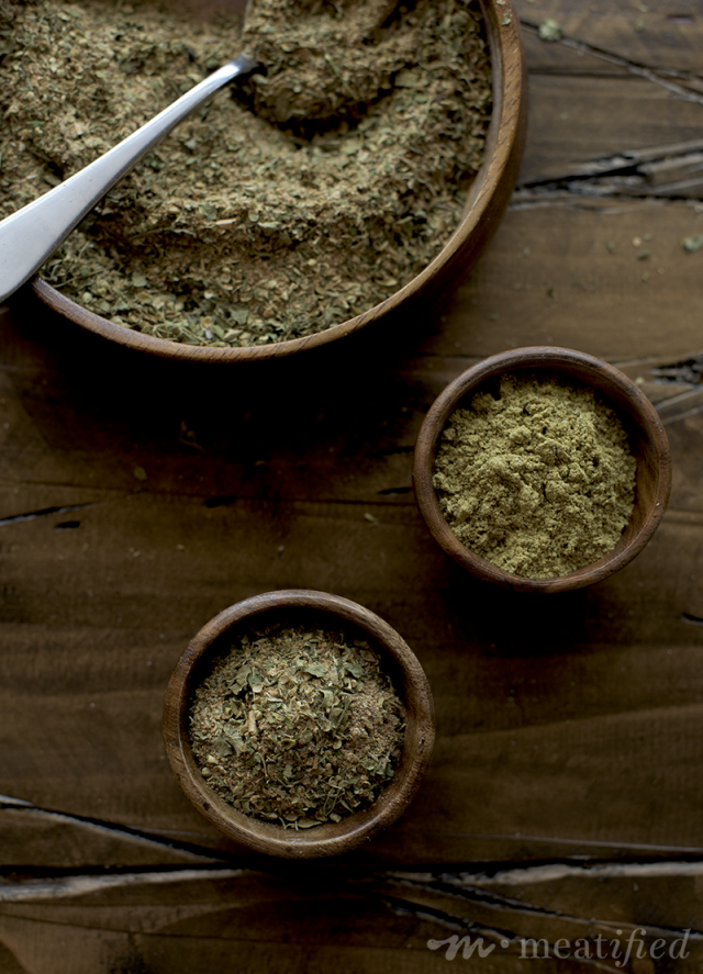 Boring taco meat, begone! This AIP Taco Seasoning from http://meatified.com is nightshade & seed spice free but packed with layers of flavor that you will love.