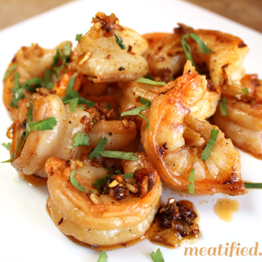 Garlic Shrimp {Gambas Al Ajillo}