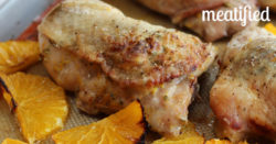 Chicken with Rosemary & Roasted Oranges from http://meatified.com