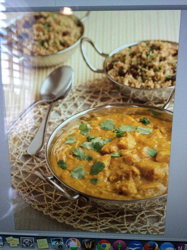 """Behind The Book: Chicken Curry & """"Rice"""" from http://meatified.com"""