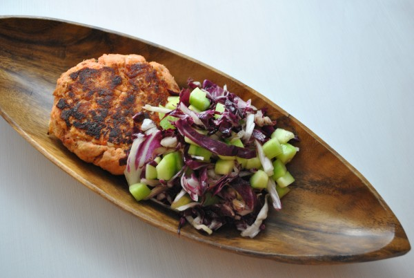 Salmon Bacon Burgers from http://AIPLifestyle.com