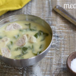 Creamy Sausage Soup with Greens from http://meatified.com #paleo #whole30 #aip #dairyfree