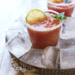 This refreshing Watermelon Agua Fresca from http://meatified.com is livened up with mint, ginger, lime & sparkling water for a perfect mocktail. Or cocktail base, should you choose!