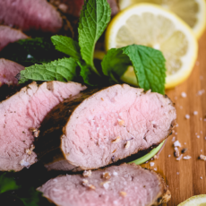 Marinated Greek Pork Tenderloin