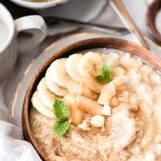 Spiced Banana Bread Oatmeal