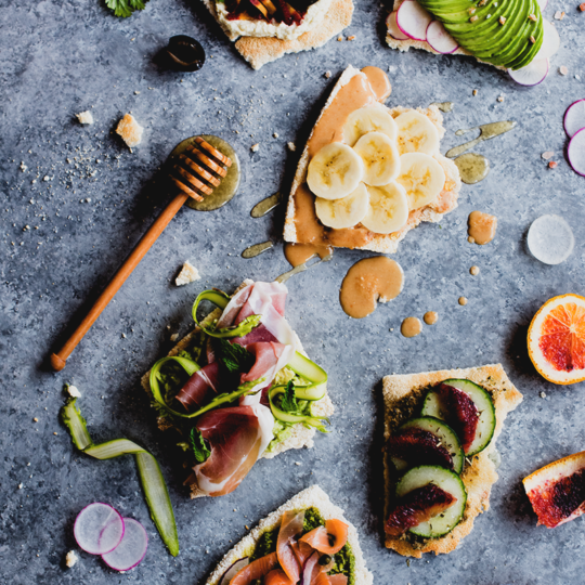 If you're craving something crispy-crunchy that you can load up with toppings, these aip and allergy friendly toasts from http://meatified.com are gonna be your new favorite thing!