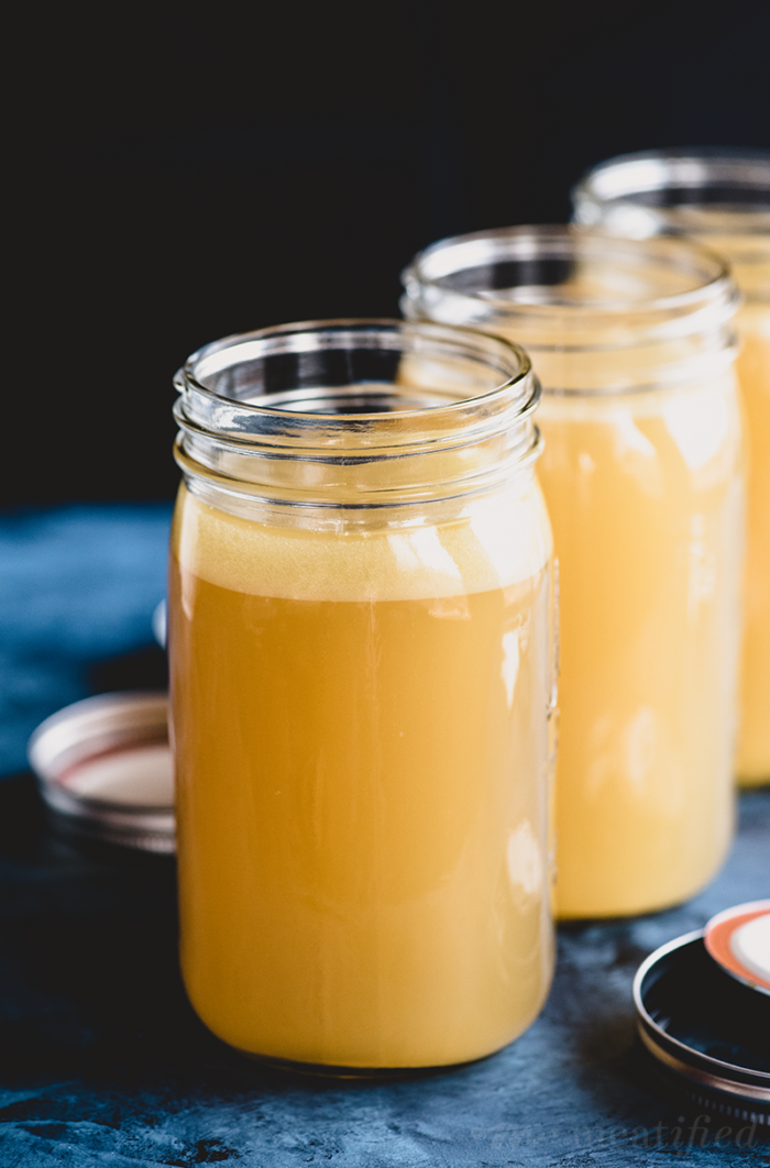 Making your own homemade bone broth is easy and economical. Here's how to make it three ways: in your Instant Pot, slow cooker or on the stove top!