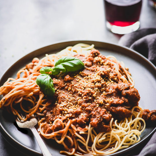 No tomatoes or nightshades were harmed in the making of this Nomato Meat Sauce from https://meatified.com! This AIP version of your favorite slow simmered meat sauce will stand up to Nanas & the pickiest of eaters.