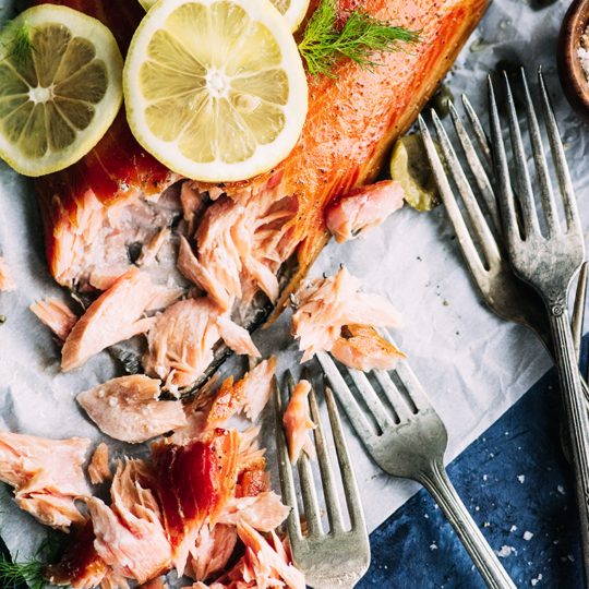 Get your grill going and make the most of salmon season with this simple, same day hot smoked salmon from https://meatified.com that's perfect for summer.