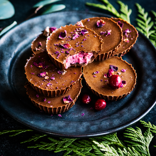 These no bake cranberry butter cups from https://meatified.com are the perfect last minute holiday treat. Bonus: they use up those last few cranberries you always have laying around!