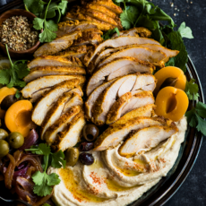 Speedy Sheet Pan Chicken Shawarma