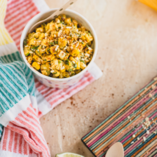 Dairy Free Mexican Street Corn Salad (Esquites)