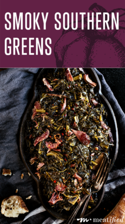 These smoky Southern greens transform dark leafy greens into a silky-tender side that pairs equally well with classic BBQ or weeknight meals.